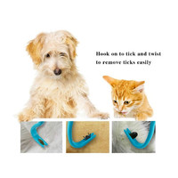 Tick Remover Tool Set - Removes Ticks and Fleas Easily. Avoides Plastics and Nasty Pesticides