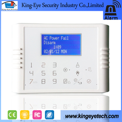 2016 APP control home automation 30 wireless + 4 wired zones gsm pstn dual network burglar alarm system