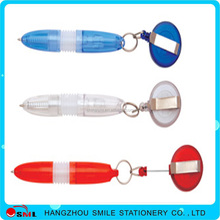 Cute High Quality Promotional wholesale Plastic Ball Pen with rope