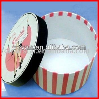 Decorative Round Boxes Interesting Hot Sale New Design Paper Decorative Round Cardboard Boxes With Inspiration
