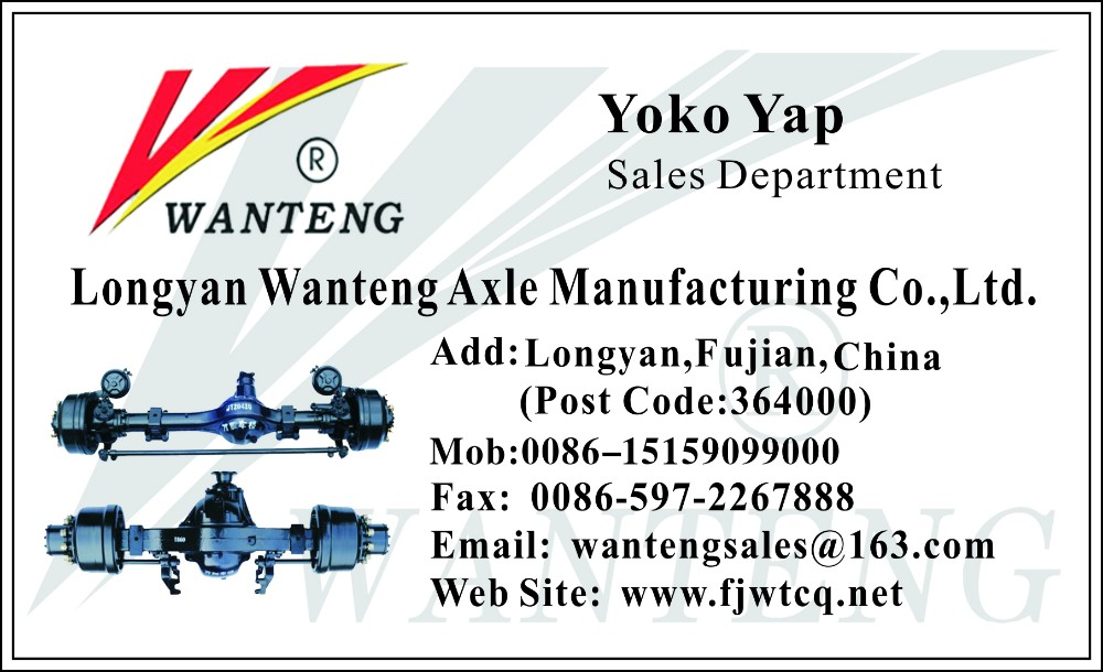 High quality volvo truck hydraulic front steering axle
