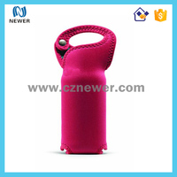 Delicated portable tote cheap durable single pack oem water bottle cooler