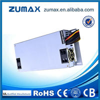 Zumax 80 PLUS Sliver 1U Series 1U650 650W Flex ATX IPC Power Supply w/ Active PFC