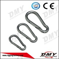 2016 hot selling galvanized parachute snap hooks low price