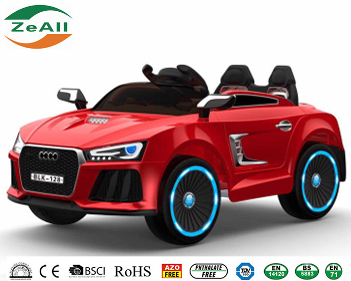 Sports Roadster Flashing Wheels electric car for kids to drive,Electric ride on toy car For Kids