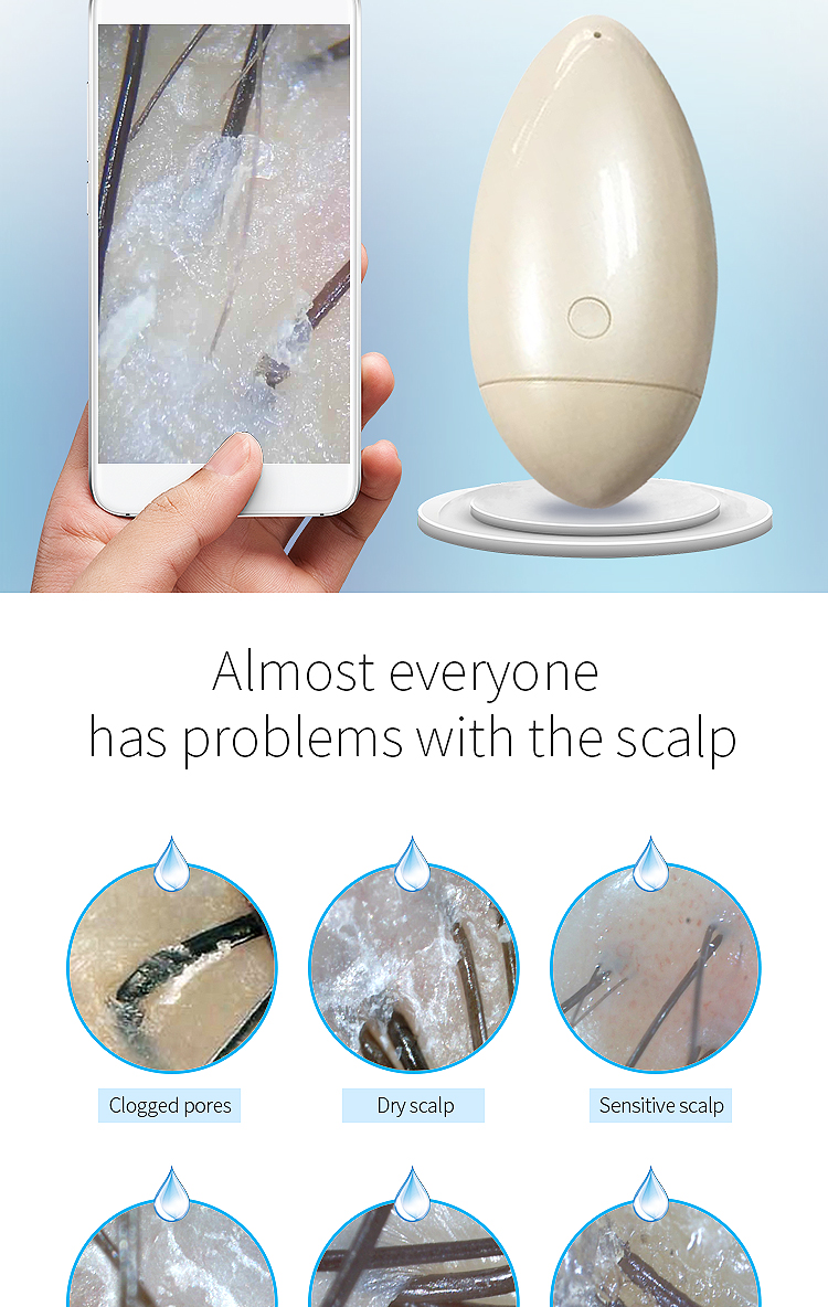 wireless smart scalp analyzer digital