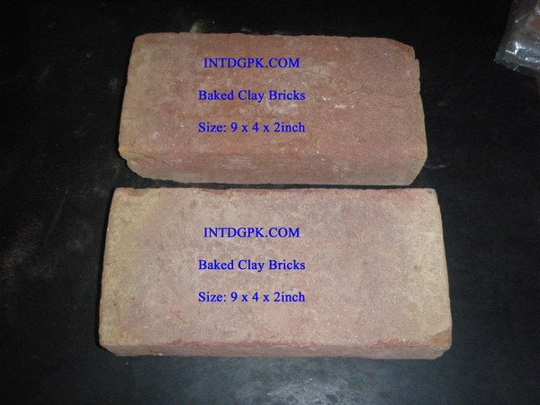 Baked Clay Bricks