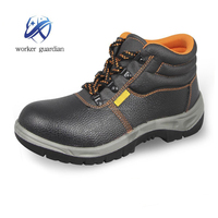 New Fashionable Genuine Leather Safety Boots