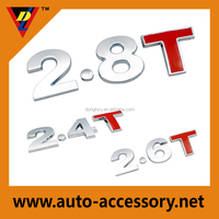 top quality chrome vehicle body stickers for cars
