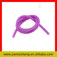 Colorful high quality soft silicone rubber tubing