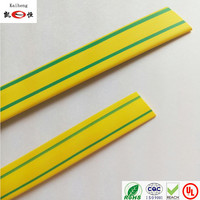 Yellow&Green heat shrink tube for earth wire sleeving