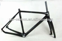 Carbon City Bike Frame And Fork,Fitted Brake Disc