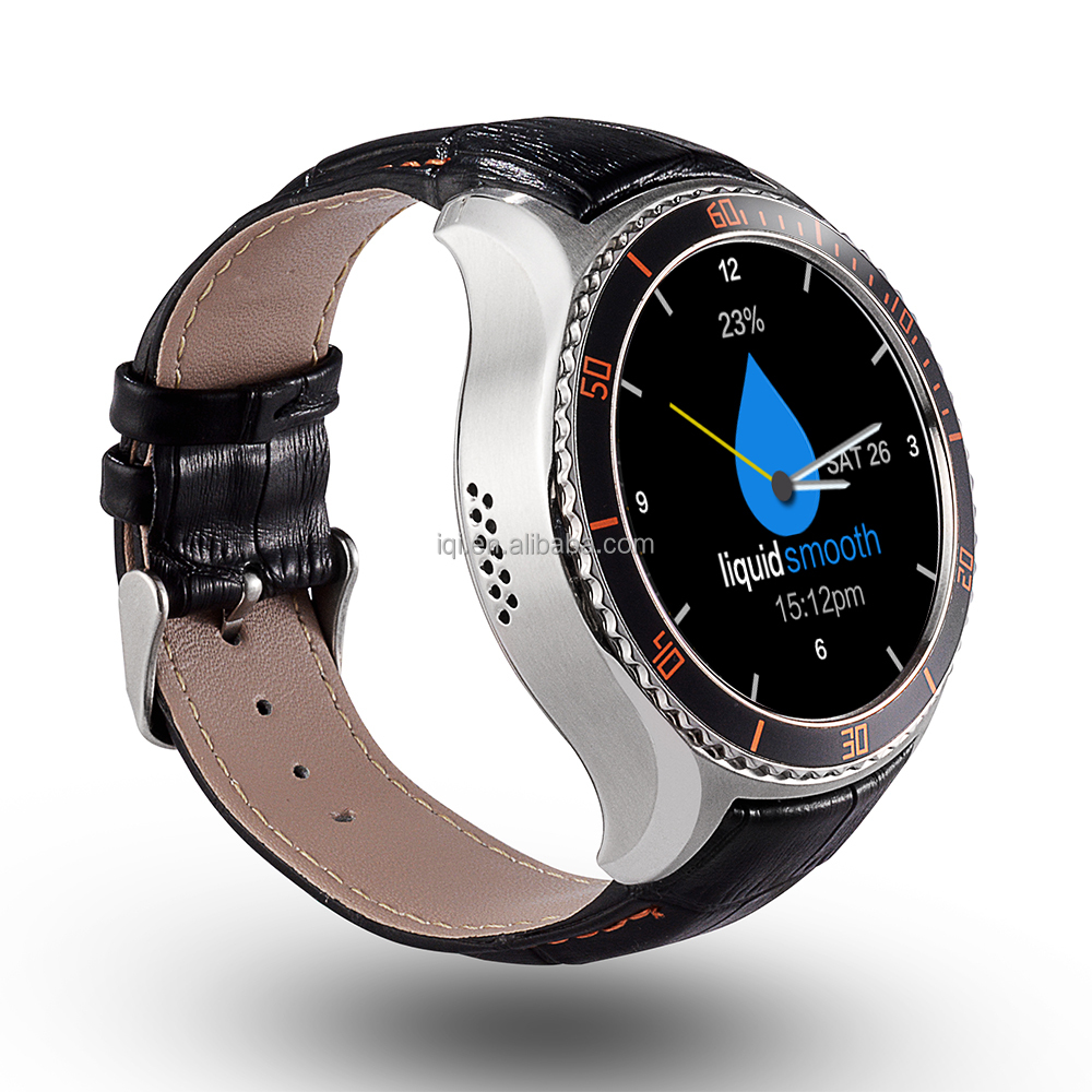 2016 IQI I2 MTK 6580 <strong>Quad</strong> core speed smart watch manufaturer