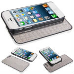 High Quality Slide Bluetooth Keyboard with Protective Case for iPhone 5