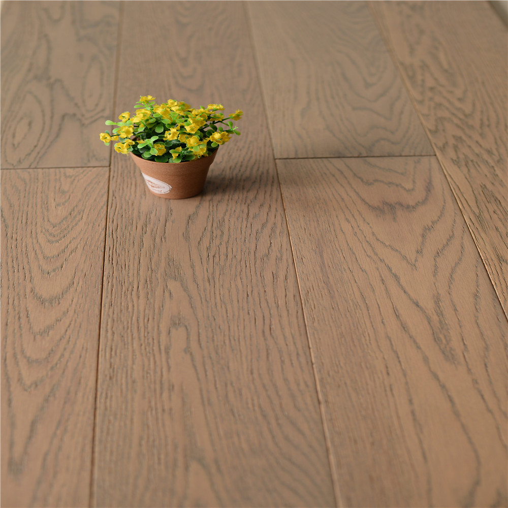 <strong>Oak</strong> Multilayer Engineered Wood Flooring Brushed Surface 720#