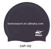 BSCI certificated custom printed silicone swimming caps