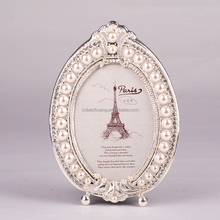 alloy metal photo frame antique style picture frame photo frame for wedding