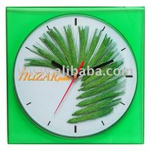 Square promotional plastic wall clock