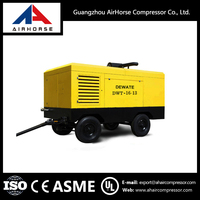 portable screw air compressor for mining