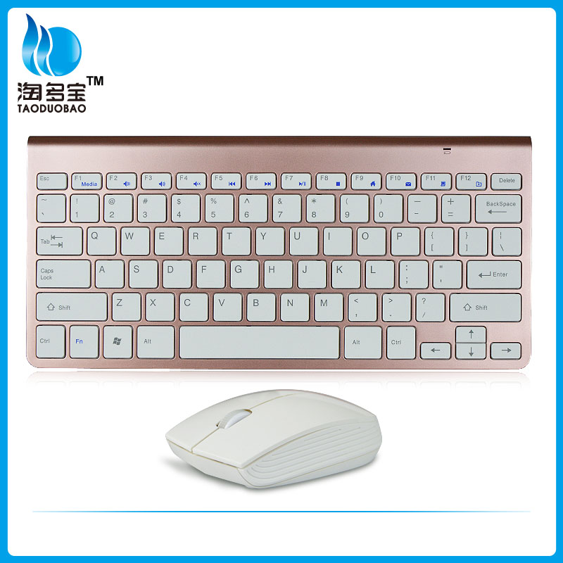 usb mini wireless notebook keyboard and mouse combo
