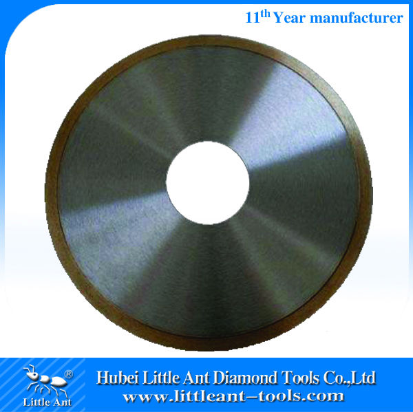 10'' diamond Continous Rim saw blade for cutting glass