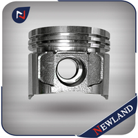 Casting Aluminum Alloy Piston for Mitsubishi 4DR5 Engine Piston 31617-00106 31617-00104