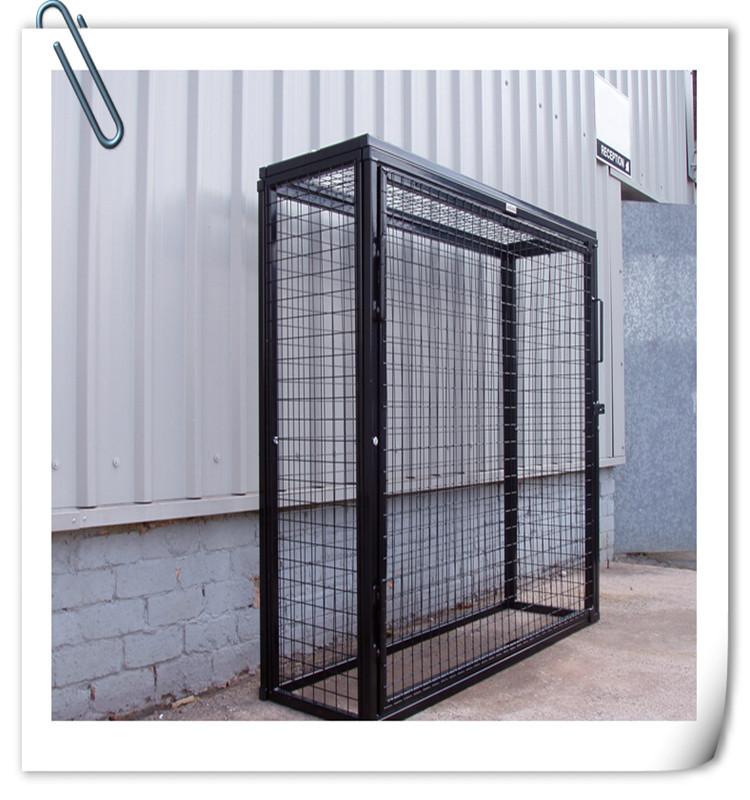 Alibaba hot sale gas bottle metal wire mesh storage cage