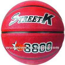 Classic sport basketball / basketball popular sport/ hot sales deep channel rubber basketball(GRB012)