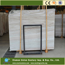 Crystal white palissandro marble