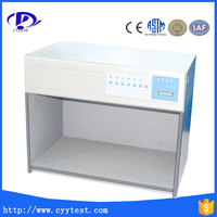 professional color inspection light box for fabric textile plastic