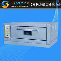 China Supplier single deck electric mini small bread baking oven used industrial hotel & restaurant