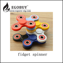 quality Metal/ Zinc/ Aluminium Alloy EDC fidget spinner finger spinner hand spinner relieve stress toy with 608 ceramic bearing
