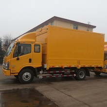 Forland (2016) New Dry cargo truck bodies closed box truck/ van truck sale