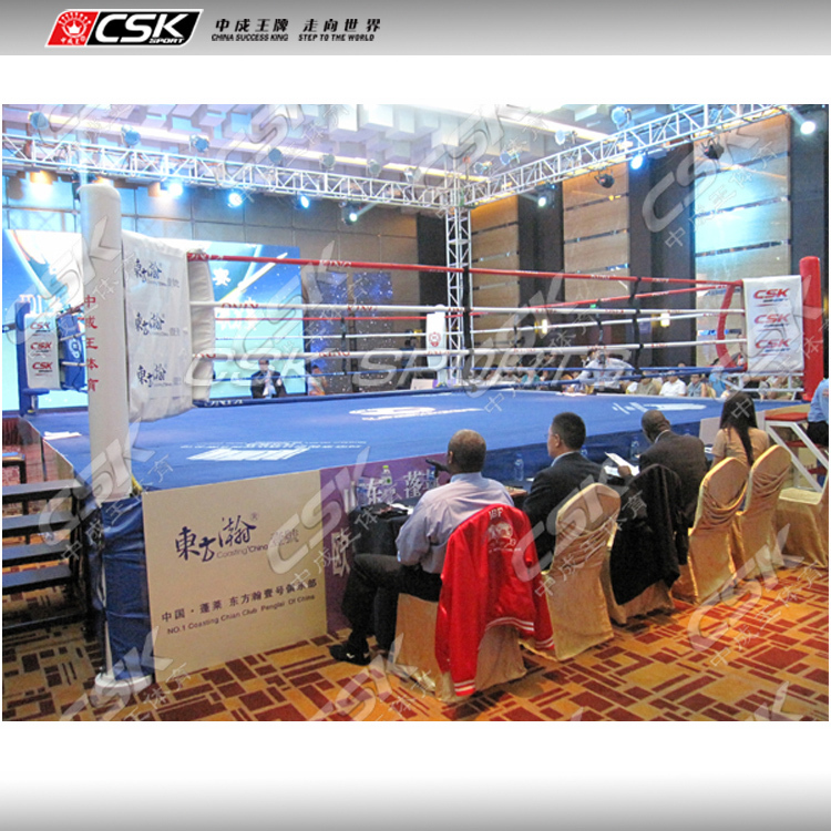 GX9821 Professional 7m*7m*1m 7.8m*7.8m*1m Used Champion Boxing Ring For Sale