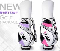 PGM White Leather Golf Bag for Women