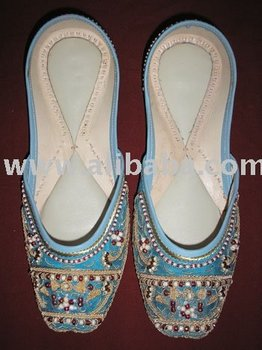 Ladies Beaded Slipper