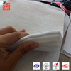 Nonwoven fiber fabric geotextile for soil retainer