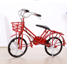 Handmade Mini Size Metal Table Bicycle Sculpture For Home Decoration