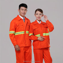 bright color cleaner's workwear /overall /labor suits with reflactive tape
