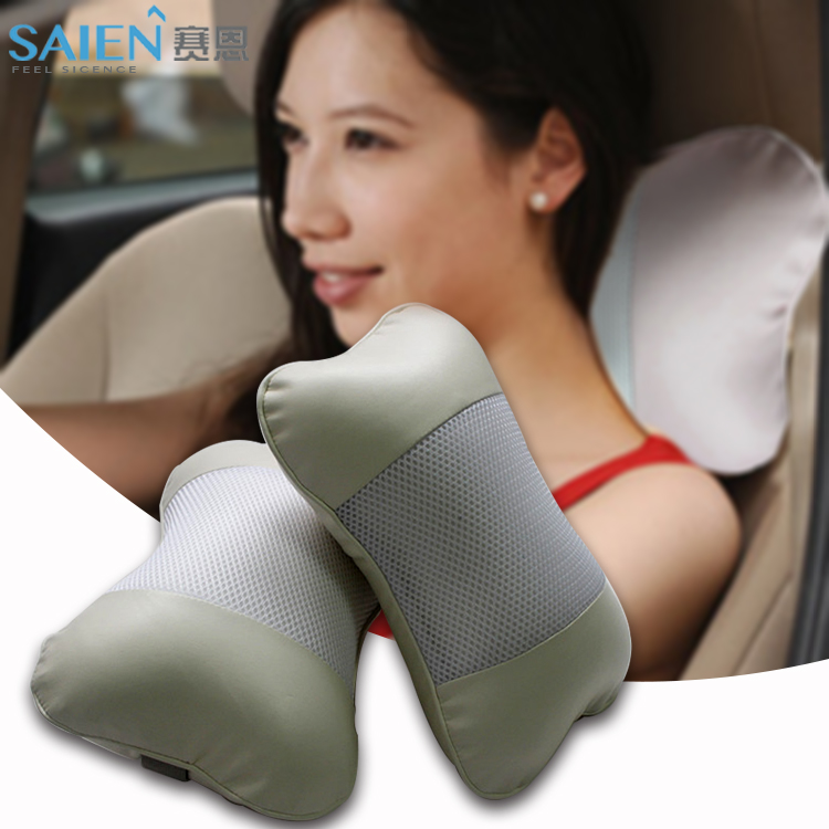 Decor memory foam bus driver travel seat neck massage pillow