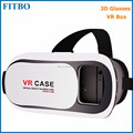 Classic VR Box Virtual Reality custom logo paper 3d glasses for Galaxy S7 edge S6 S6 edge Plus S8 S8 Plus