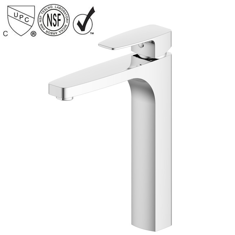 FUAO UPC Single Handle Basin Faucet parts Tap Mixer