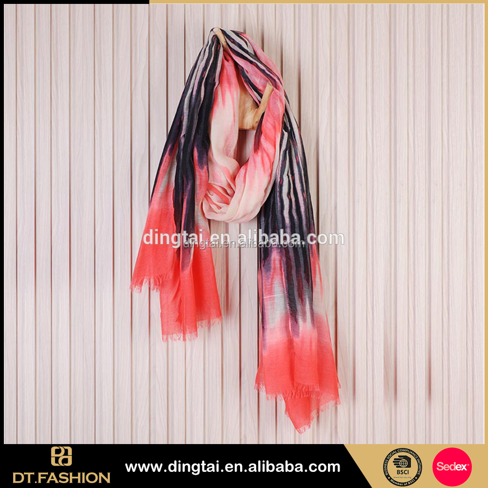 Top Quality Smart ladies scarves uniform latest polyester scarf