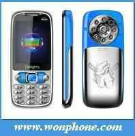 "Low Price Q007 Dual SIM Card Mobile Phone 2.4"" Screen, Flash Light"