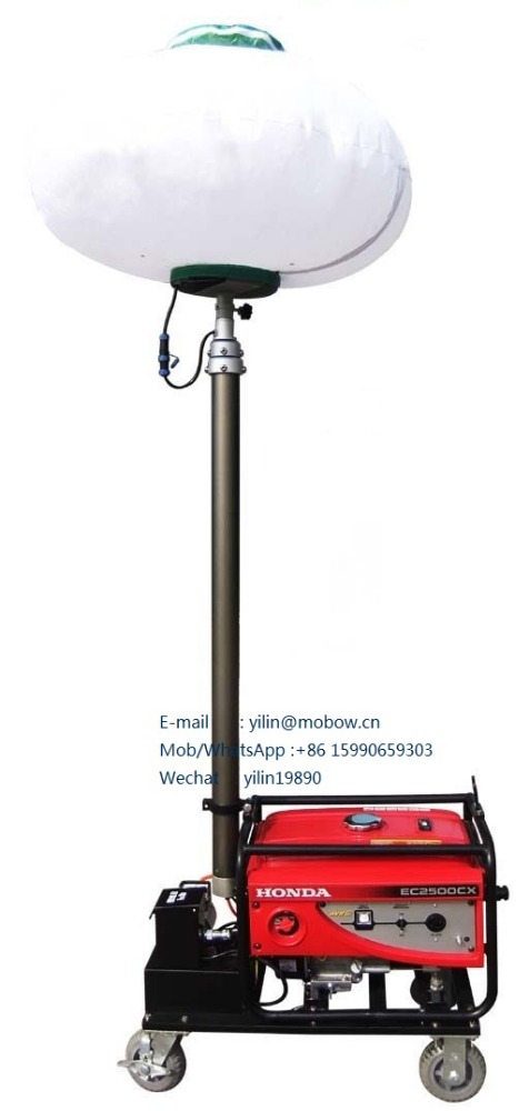 Gasoline generator balloon Light tower