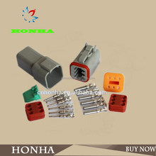 DEUTSCH DT06-6S / DT04-6P 6 pin male female wire connector 6 way wire plug connector