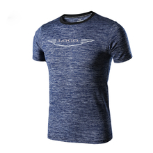 2017 New Design Custom Printing Mens Sports Shirts Men Running Short Sleeves Training Fitness Tights Workout Gym T Shirt