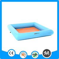 Yiwu wholesale rectangle PVC inflatable childrens sandpit
