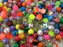 25mm,32mm,45mm Novelty Assorted Super Bouncy Balls Super Bounce Ball for Kids