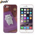 Finger pinch cute 3D kneading cartoon Shape mochi squishy slow rising phone case for iphone 7 squishy phone case
